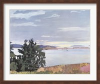 View of Barred Island Fine Art Print