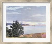 View of Barred Island Fine Art Print
