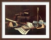 Music and Literature Fine Art Print