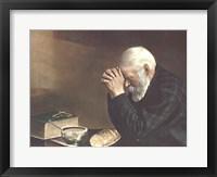 Grace (Old Man Praying) Fine Art Print