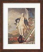 Washington At Yorktown Fine Art Print