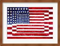 Three Flags Fine Art Print