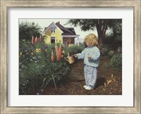 Little Gardener Fine Art Print