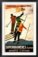 Superbagneres-Luchon, Sports d'Hiver Fine Art Print