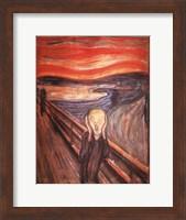 The Scream, c.1893 Fine Art Print