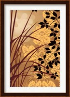 Golden Flourish I Fine Art Print