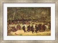 The Bear Dance, c.1870 Fine Art Print