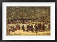 The Bear Dance, c.1870 Fine Art Print