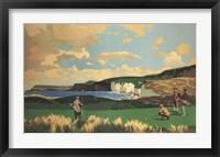 Vintage Golf - Golf In Northern Ireland Fine Art Print