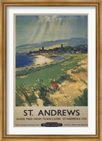 Vintage Golf - St Andrews Fine Art Print