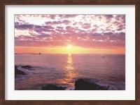 Sunrise from Portland Head Light Fine Art Print