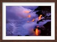 Twilight Fire Fine Art Print