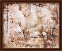 Achelous (metallic ink) Fine Art Print