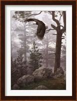 Shrouded Forest (detail) Fine Art Print