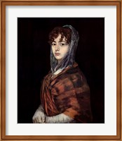 Senora Sabasa Garcia Fine Art Print