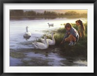 At the Mill Pond Fine Art Print