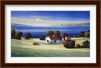Barns on Gamble Bay Fine Art Print