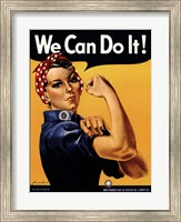 We Can Do It! Fine Art Print