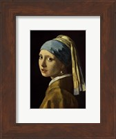 Girl with a Pearl Earring, c.1665 Fine Art Print
