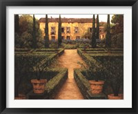 Garden Manor Fine Art Print