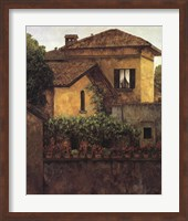 Golden Villa Fine Art Print