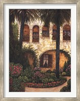 Patio Gerona Fine Art Print