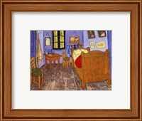 Bedroom at Arles Fine Art Print