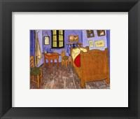Bedroom at Arles Fine Art Print