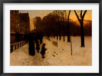 Boston Common at Twilight, 1885-86 Fine Art Print