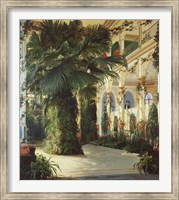 Interior of a Palm House Fine Art Print