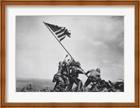 Flag Raising on Iwo Jima, February 23, 1945 Fine Art Print