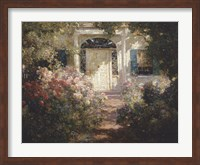 Doorway and Garden Fine Art Print