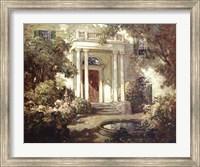 Front Porch in Dappled Sunlight Fine Art Print