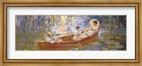 Boating on the Marsh Fine Art Print