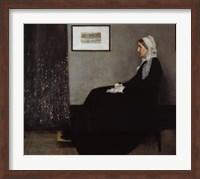 Portrait of the Artist's Mother Fine Art Print