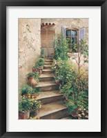 Stairway in Provence Fine Art Print