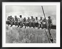 Lunchtime Atop a Skyscraper, c.1932 Fine Art Print