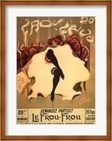 Le Frou-Frou, c.1900 Fine Art Print