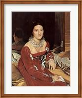 Madame De Sennones Fine Art Print