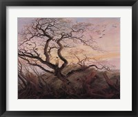 Tree with Crows Fine Art Print