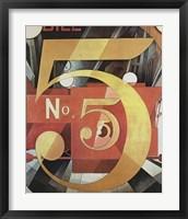 Figure Five in Gold Fine Art Print