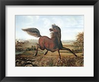 Neigh of an Iron Horse Fine Art Print