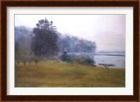 Trees In Fog and Mist Fine Art Print