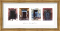 Doors of Mexico Fine Art Print