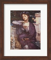 Libra and Her Sparrow 1907 Fine Art Print