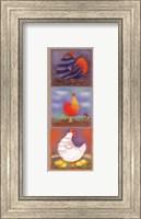 Chicken Panel Fine Art Print
