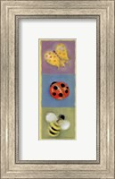 Butterfly Lady Bee Panel Fine Art Print