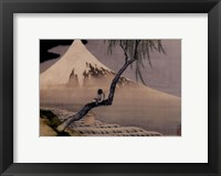 Boy On Mt. Fuji Fine Art Print