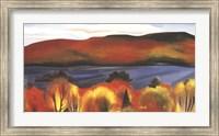 Lake George, Autumn, 1927 Fine Art Print