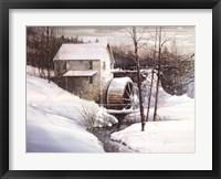 Mill Stream Fine Art Print
